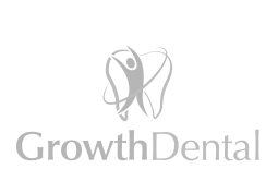 Growth Dental logo Black and White